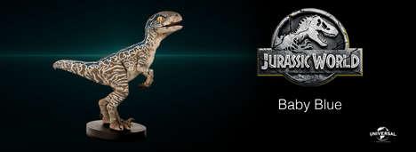 Baby Raptor Figurines