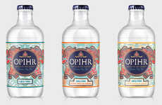 Ready-to-Drink Gin Cocktails - The Opihr Stubbies Come in Ornately Branded Glass Bottles