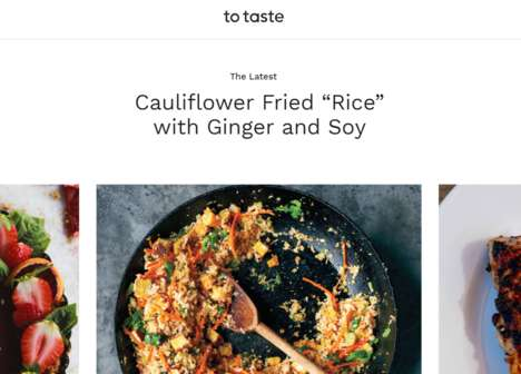 Collaborative Creditable Recipe Sites - 'To Taste' Lets Cooks Adjust Recipes and Share Tweaks