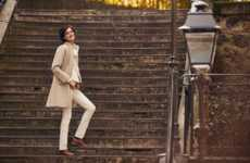 Vintage Paris-Inspired Clothing Collections - Uniqlo Introduces Its INES DE LA FRESSANGE FW18 Series