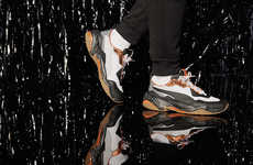 Eclectic 90s-Inspired Chunky Sneakers - PUMA Revives the Thunder Electric Shoes in New Colorways