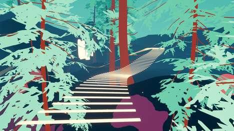 Meditative Wandering Games