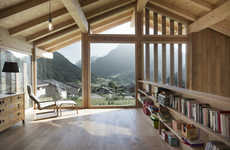 Raw Timber Chalets - CRN House is an Exaggerated Swiss Cottage