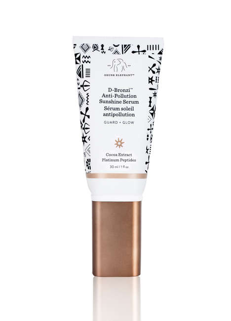 Bronzing Protective Serums - Drunk Elephant Launched a 'D-Bronzi Anti-Pollution Sunshine Serum'