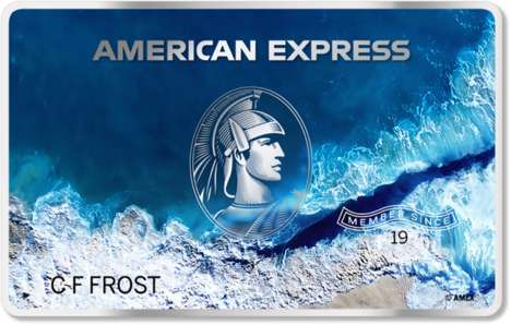 Ocean Plastic Credit Cards - American Express and Parley's New Credit Card Aims to 'Keep it Blue'