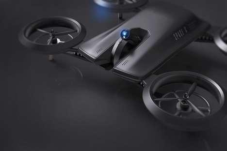 Interactive Projector Drones