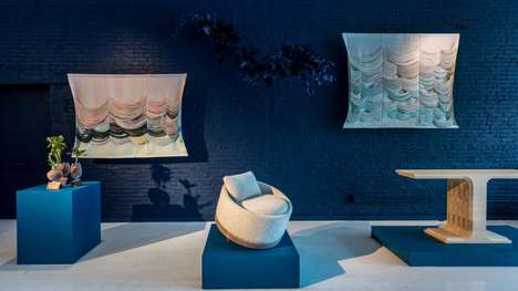 Blue-Infused Designer Homeware Exhibitions