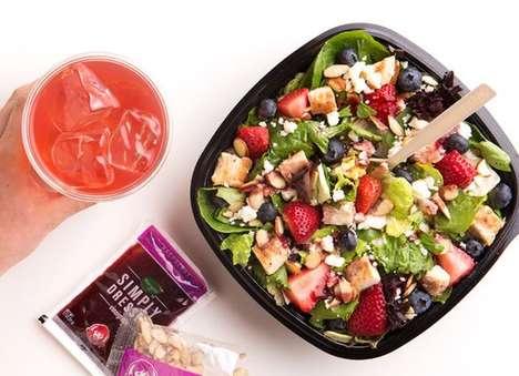Warm Weather QSR Salads