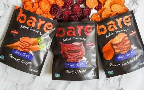 Baked Veggie-Based Snack Chips