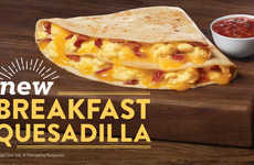 Tortilla-Based Breakfast Sandwiches