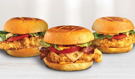 Tropical Chicken Sandwiches