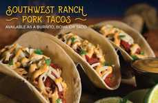 Ranch-Covered Pork Tacos