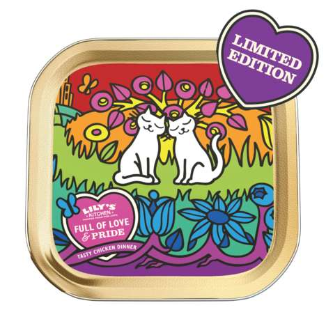 Pride-Celebrating Pet Foods - Lily's Kitchen Launched Limited-Edition Pet Food Supporting Stonewall
