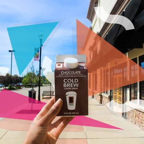 Chocolate Cold Brew Cartons