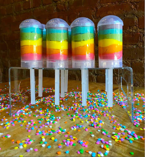 Push-Up Rainbow Hummus Pops