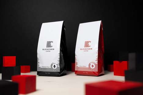 Cryptocurrency-Inspired Coffees - Bitcoin Coffee Makes Products Targeted Towards Crypto Traders