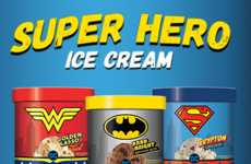 Superhero-Inspired Ice Creams