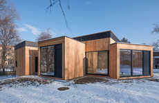 Pure Timber Youth Centers - Jugendzentrum Echo is Designed to Inspire and Support Young People