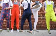 Unisex Sweatpant Overalls - 'Swoveralls' Come in a Variety of Different Colors and Sizes