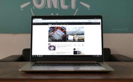 Immersive Urban Lifestyle Laptops