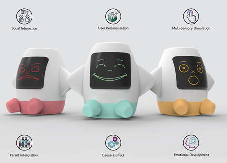 Emotional Communication Toys - The 'AMICA' Smart Toy Helps Children with Autism Learn About Feelings