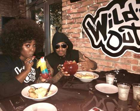 TV Personality Arcade Bars - Nick Cannon's Wild 'N Out Sports Bar is an Exciting Dining Option