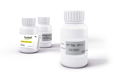 E-Ink Pharmaceutical Bottles