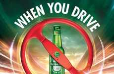 Online Drive Sober Pledges - Heineken Invites Drivers to Commit to Sobriety with an Online Pledge