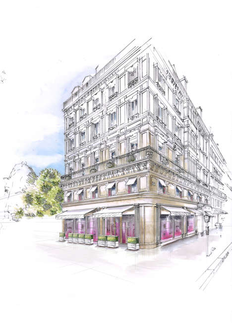 French Food Brand Hotels - Luxury Food Purveyor 'Fauchon' is Making a Foray into Hospitality