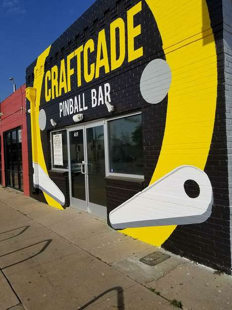 Pinball-Themed Arcade Bars