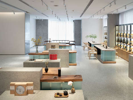 Topographical Tea House Designs