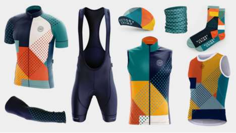 Playful Cycling Apparel - The Victory Chimp Kit Collection Features Banana Positioning Technology