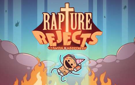 Twisted Webcomic Games - 'Rapture Rejects' is Based on 'Cyanide & Happiness'