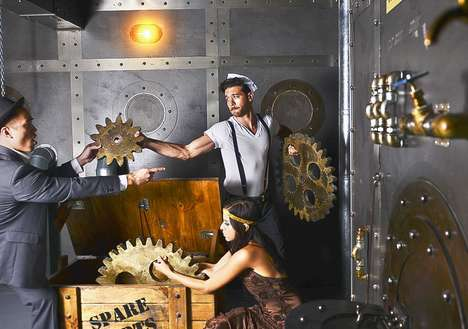 In-Bar Escape Room Activities - Clubhouse Offers Its Customers Immersive Escape and Ice-Cold Rooms