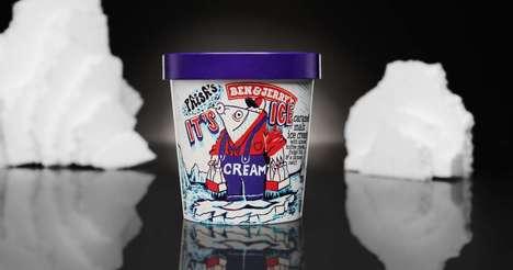 Nostalgic Caramel Ice Creams