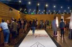Community-Oriented Shuffleboard Bars - Block Party Boasts a Spacious Patio and Summery Entertainment