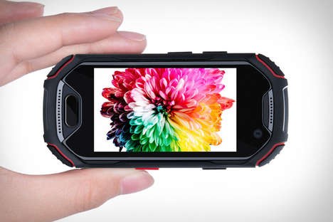 Rugged Compact Smartphones