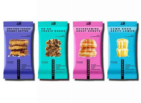 Indulgent Plant-Based Protein Bars - TRUWOMEN's Bars are Powered by Plants and Inspired by Desserts