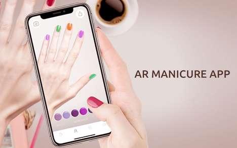 AR Nail Polish Apps