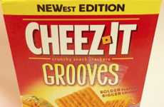 Cheesy Taco-Flavored Crackers