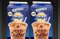 Sandwich Cookie Iced Coffees