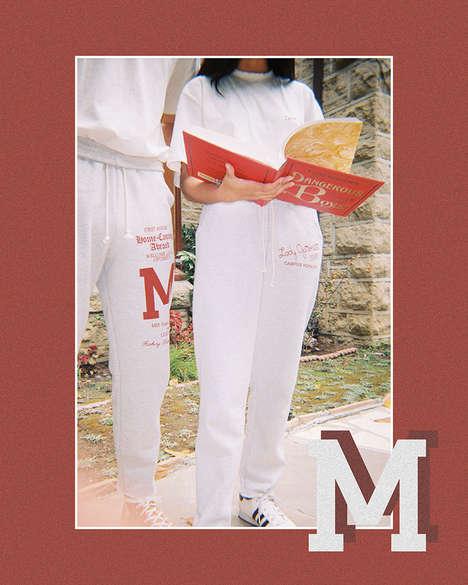 Collegiate-Inspired Casual Wear