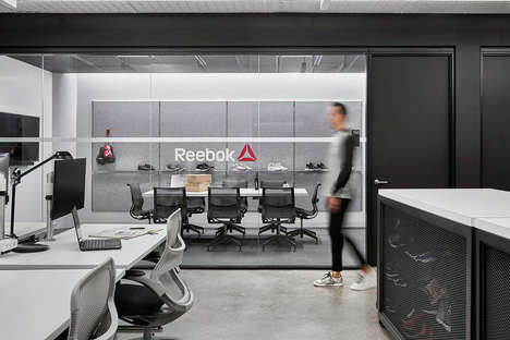Wholesome Business Headquarters - Reebok's Headquarters is Equipped with a 30,000 Sq. Ft. Gym