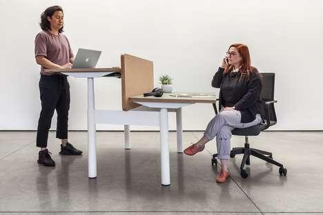 Alternative Cubicle Workstations