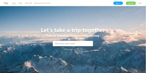 Traveler-Pairing Platforms - 'Tripi' Connects Solo Travelers Going to the Same Places