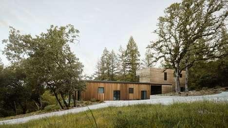 Doorless Californian Homes
