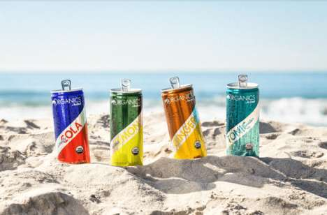 Summer-Ready Flavorful Organic Sodas - Red Bull Organics Has No Artificial Ingredients in Its Recipe