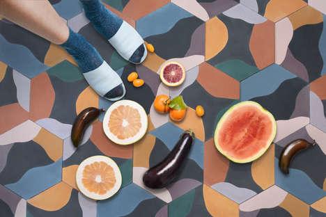 Modular Cement Tile Designs