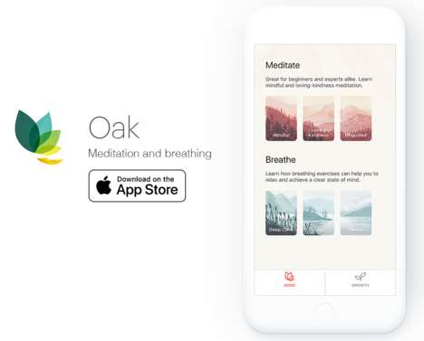 Hand-Painted Meditation Apps