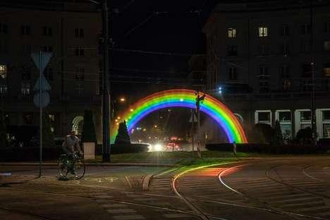 Water-Light Rainbow Installations